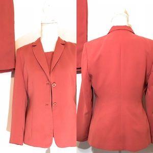 Amanda Smith Petite 3 piece skirt suit, Sz 4P
